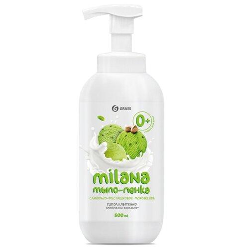 Мыло-пенка Grass Milana сливочно-фисташковое мороженое, 500 мл