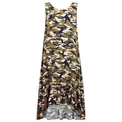 Платье Dixie размер 152, зеленый/хаки