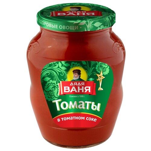 Томаты в томатном соке Дядя Ваня, 680 г перец пеперчино дядя ваня 680 г