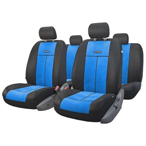 Комплект чехлов AUTOPROFI TT-902V синий/черный ремкомплект autoprofi rem 30 master