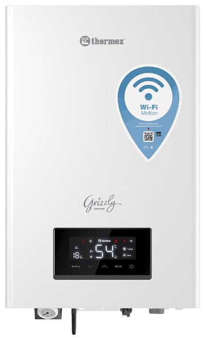 Электрический котел Thermex Grizzly Wi-Fi 5-12 кВт, одноконтурный фото 1