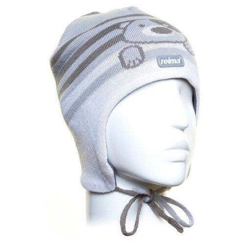Купить Шапка Reima размер 50, light grey, Головные уборы