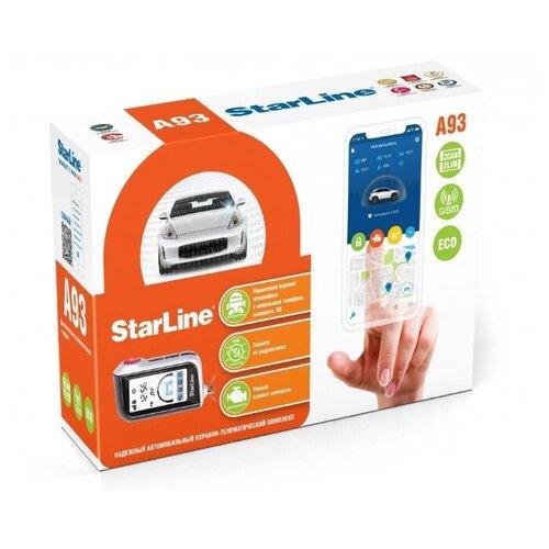 Автосигнализация StarLine A93 2CAN+2LIN GSM ECO автосигнализация starline t94