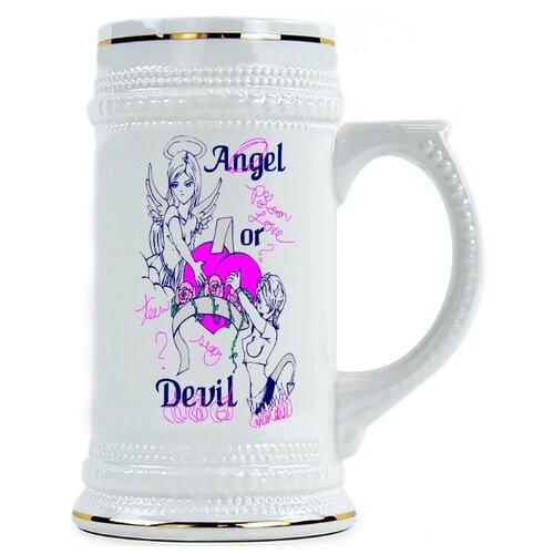 Пивная кружка Angel...Devil