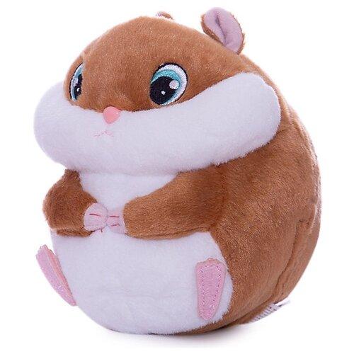 Купить Мягкая игрушка Club Petz Хомяк Bambam белый/коричневый, Роботы и трансформеры