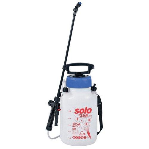 Опрыскиватель Solo 305А 5 л белый/синий/красный опрыскиватель solo 408 5 л белый черный бордовый