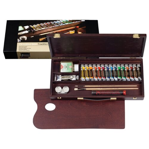 Купить Royal Talens Набор масляных красок Rembrandt Традиционный 15цв*15мл/1цв*40мл, Наборы для рисования