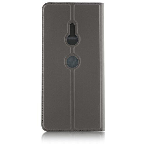 Чехол Rosco XZ3-BOOK для Sony Xperia XZ3 черный графит