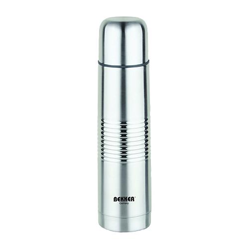 Классический термос Bekker BK-82, 0.75 л серебристый