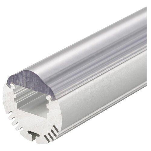 Комплект (профиль, рассеиватель) Arlight ALU-ROUND-2000ANOD+LEN30 серый профиль arlight alu power w35s 2000 anod frost серый
