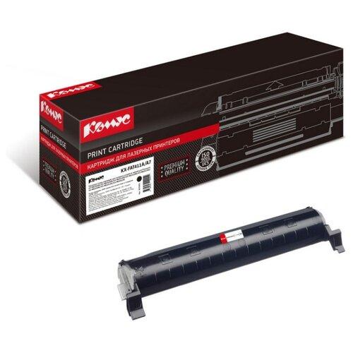Фото - Картридж лазерный Комус KX-FAT411A/A7 черный, для PanasonicKX-MB2000 картридж nv print kx fat411a kx fat411a kx fat411a kx fat411a для для panasonic kx fa t 411a 2000стр черный