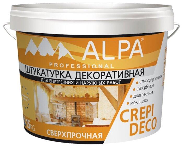 Декоративное покрытие Alpa Crepi Deco