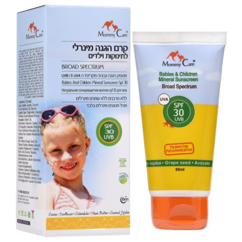 Mommy Care Солнцезащитное молочко для детей SPF 30 80 мл mommy care крем babies and toddlers facial spf 15 60 мл