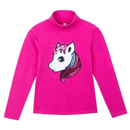 Купить Водолазка playToday размер 98, розовый, Свитеры и кардиганы