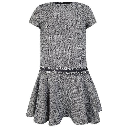Купить Платье Mayoral размер 134, белый/черный, Платья и сарафаны