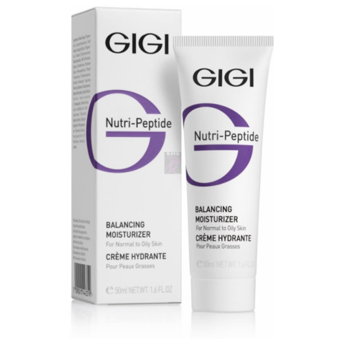 Gigi Nutri-Peptide Balancing Moisturizer OILY Skin Пептидный крем балансирующий для жирной кожи, 50 мл gigi дорожный набор для идеально чистой кожи nutri peptide clean