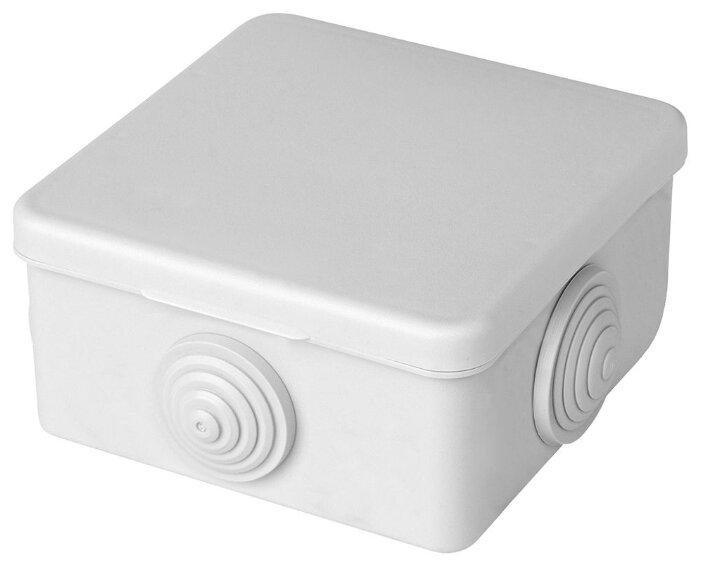 Распределительная коробка STEKKER EBX10-24-44 наружный монтаж 91x91 мм
