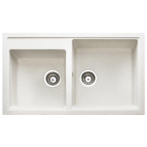 Врезная кухонная мойка 86 см Longran Classic CLS 860.50.20 alpina/07