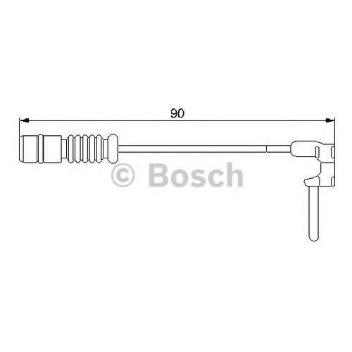 Датчик износа тормозных колодок задний Bosch 1987474901 для Mercedes-Benz, PUCH
