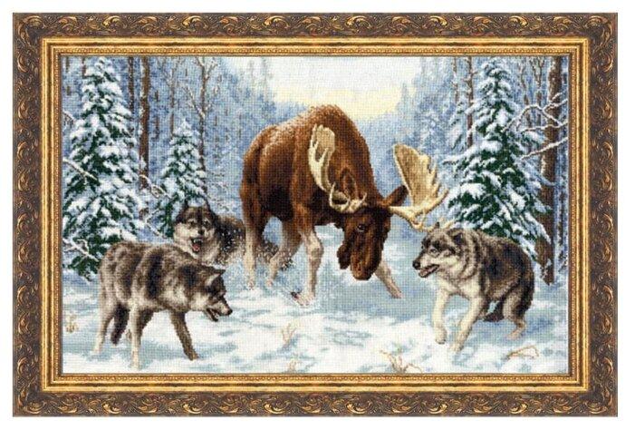 Золотое Руно Набор для вышивания Встреча в лесу 48 х 30 см (ДЖ-013)
