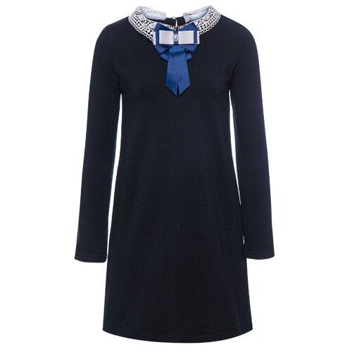 Купить Платье Nota Bene размер 146, темно-синий, Платья и сарафаны