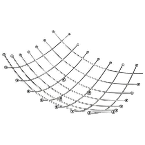 Regent Фруктовница Trina 35 х 35 см серебристый
