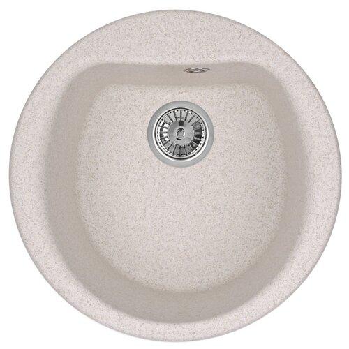 Фото - Врезная кухонная мойка 50 см Granula 5101 пирит