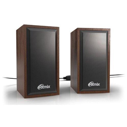Компьютерная акустика Ritmix SP-2052w вишня компьютерная акустика genius sp u120 31731057100