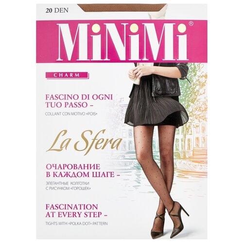 Колготки MiNiMi La Sfera 20 den, размер 5-XL, daino (бежевый) колготки minimi la sfera 20 den размер 3 m daino бежевый