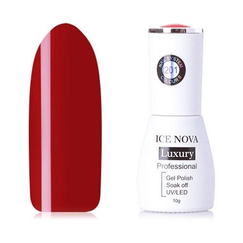 Купить Гель-лак для ногтей ICE NOVA Luxury Professional, 10 мл, 201