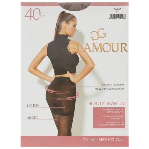 Колготки Glamour Beauty Shape 40 den, размер 4-L, daino (бежевый) колготки glamour prestige 40 daino