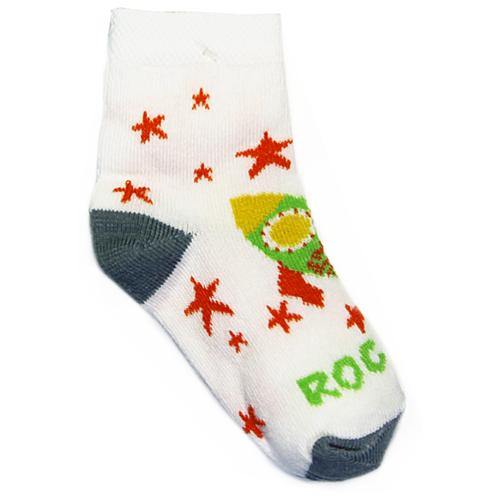 Носки Nexx размер 12-14 см, белый/зеленый носки nexx размер 18 20 см голубой