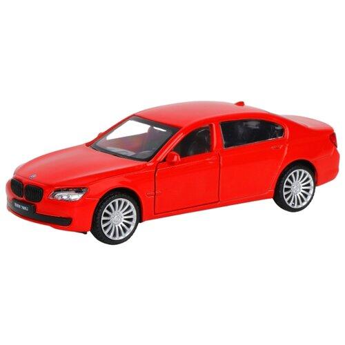 Купить Легковой автомобиль Автопанорама BMW 760 LI (J12279/JB1200131) 1:46 11 см красный, Машинки и техника