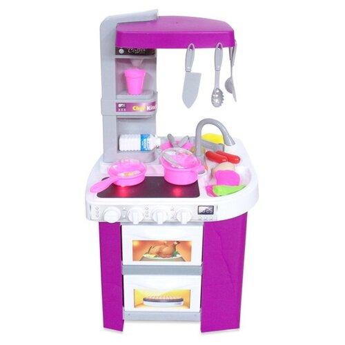 Фото - Кухня ABtoys Помогаю маме PT-00791 розовый/белый/серый кухня abtoys помогаю маме pt 00791 розовый белый серый