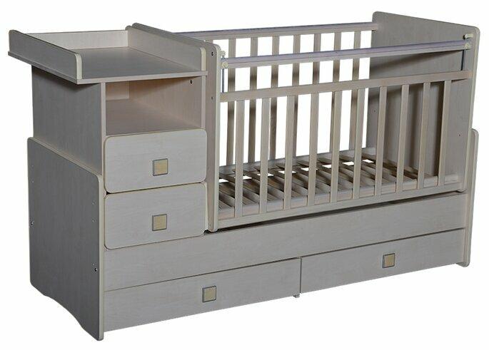 Кроватка Антел Ульяна-4 (трансформер)