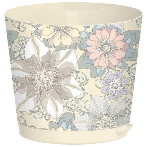 Горшок InGreen Easy Grow ING47020, 4л, 20х17.8 см цветочный дом