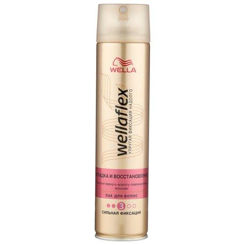 Wella Лак для волос Wellaflex Укладка и восстановление сильной фиксации, сильная фиксация, 250 мл wella лак для волос сильной фиксации stay styled 300 мл