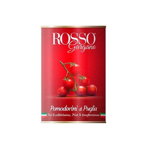 цена Томаты Черри в собственном соку Rosso Gargano жестяная банка 400 г онлайн в 2017 году