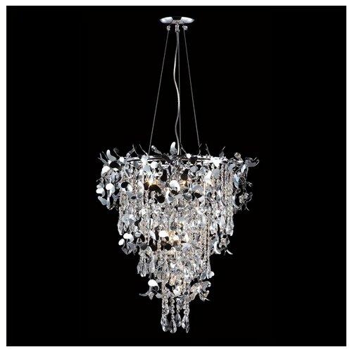 Люстра Crystal Lux ROMEO SP10 CHROME D600, E14, 600 Вт люстра crystal lux barcelona sp10 barcelona
