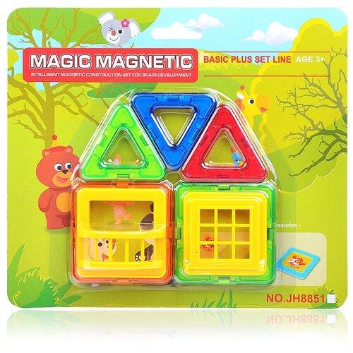 Купить Магнитный конструктор Наша игрушка Magic Magnetic JH8851B, Конструкторы