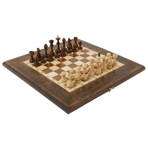 Haleyan Шахматы + нарды резные 50