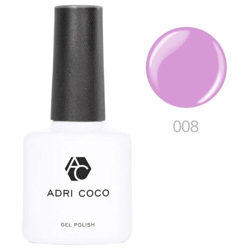 Купить Гель-лак для ногтей ADRICOCO Gel Polish, 8 мл, 008 ярко-лиловый