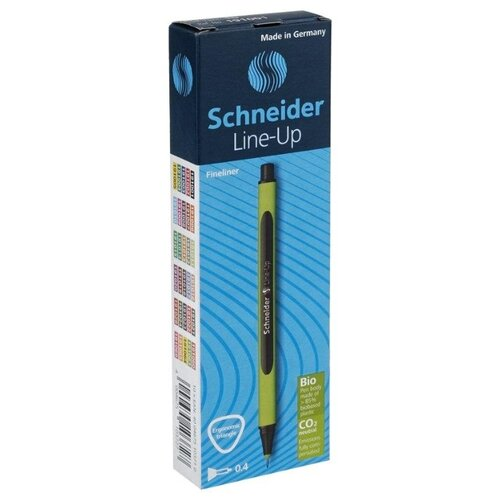 Купить Schneider Набор капиллярных ручек Line-Up 0.4 мм, 10 шт., черный сапфир цвет чернил, Ручки