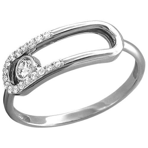 Эстет Кольцо с 19 фианитами из белого золота 01К1213122, размер 18 эстет кольцо с 19 фианитами из белого золота 01к2210883 1 размер 18