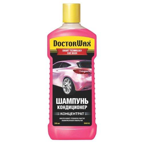 Doctor Wax Автошампунь кондиционер (концентрат) 0.3 л