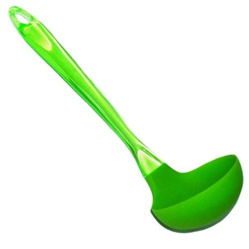 Половник Vetta Колор 881030, акрил/силикон зеленый