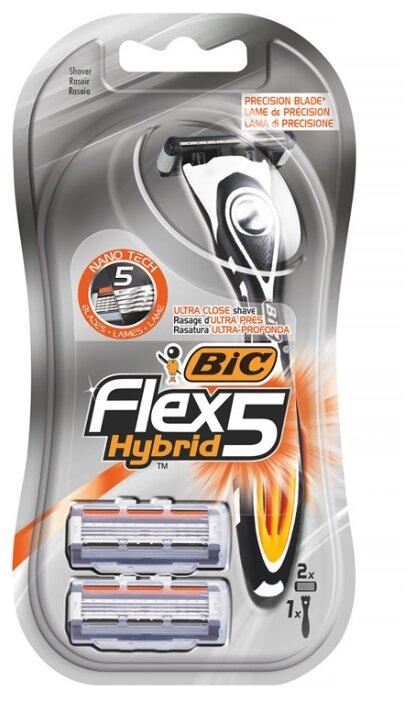 Бритвенный станок Bic Flex 5 Hybrid — купить по выгодной цене на Яндекс.Маркете
