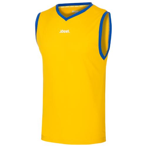 Купить Майка Jogel JBT-1020 размер YS, желтый/синий, Футболки и топы