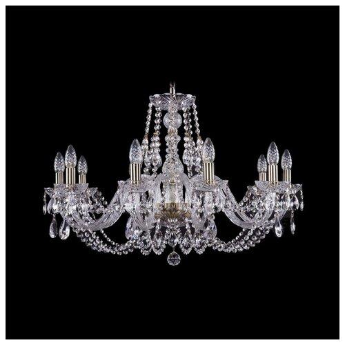 Люстра Bohemia Ivele Crystal 1406 1406/10/300/Pa, E14, 400 Вт люстра bohemia ivele crystal 1406 1406 12 300 pa