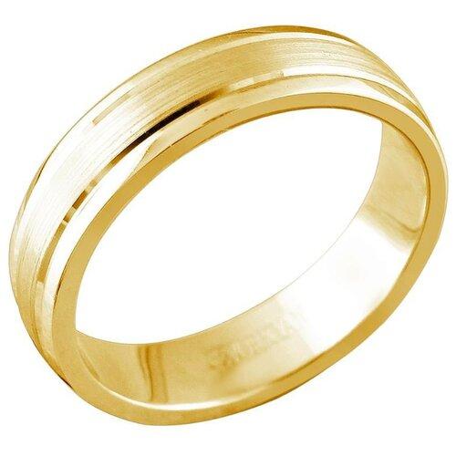 Эстет Кольцо из красного золота 01О010362, размер 18.5 фото